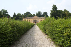 Colli Euganei (Veneto, Italia), villa antica Immagine Stock Libera da Diritti