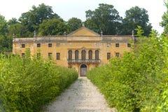 Colli Euganei (Veneto, Italia), villa antica Fotografia Stock