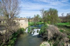 Collias, village royalty free stock photos