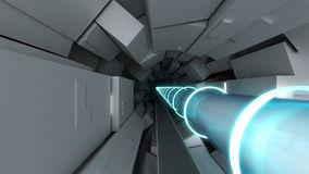 Collider del Hadron Fotografia Stock