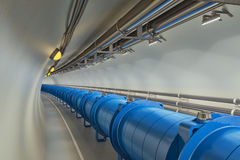Collider del Hadron Fotografie Stock Libere da Diritti