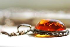 Collier ambre Photos libres de droits