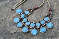 Collier antique de turquoise Images stock