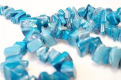 Collier bleu 02 Images libres de droits