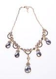 Collier, collier sur le fond Photo stock