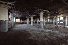 Collier-Crowell Building - Springfield, Ohio. Inside the long abandoned Collier-Crowell Building in downtown Springfield, Ohio royalty free stock photo