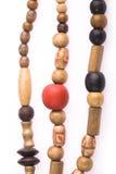 Collier d'en bois Photo stock
