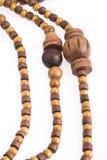 Collier d'en bois Images libres de droits