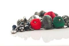 Collier de boucles d'oreille de bijou Image stock