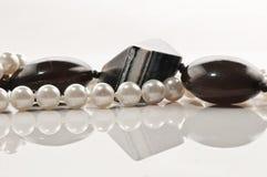 Collier de boucles d'oreille de bijou Photo stock