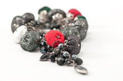 Collier de boucles d'oreille de bijou Image libre de droits