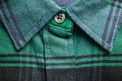 Collier de chemise comme fond photographie stock