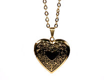 Collier de coeur Photo libre de droits