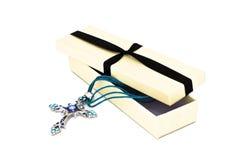 Collier de crucifix Image stock