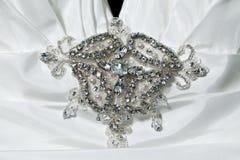 Collier de diamant Photographie stock
