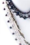 Collier de perle Images libres de droits