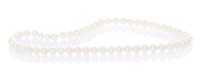 Collier de perle photo stock
