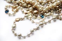 Collier de perle Images stock