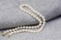 Collier de perle photos libres de droits