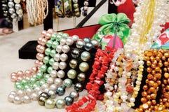 Collier de perle Photos stock