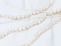 Collier de perle des perles naturelles Images stock