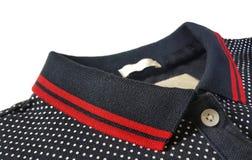 Collier de polo et détail de texture images stock