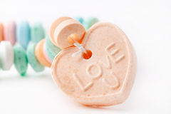 Collier de sucrerie Image libre de droits