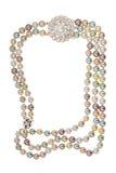 collier de trame de broche Photographie stock libre de droits