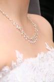 Collier du `s de mariée Images stock