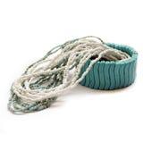 Collier et bracelet Photographie stock