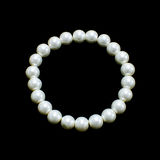 Collier et bracelet de perle Image stock