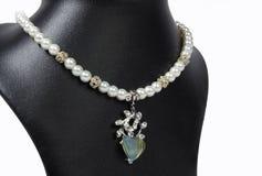 Collier indien de perle photos libres de droits