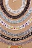 Colliers colorés Images stock