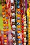 Colliers colorés Photos libres de droits