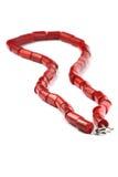 Colliers de corail rouges Photo stock