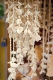 Colliers de Shell accrochant en vente à Key West, Etats-Unis image libre de droits