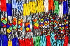Colliers tribals africains Photo libre de droits