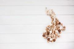 Colliers tricotés de perles Image stock
