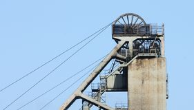 Colliery Headstocks. Stock Photos