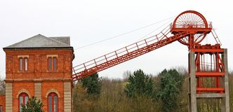 Colliery Headstocks Royalty Free Stock Image