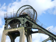 Colliery Headstocks Stock Image