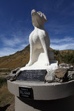 A collies memorial  monument Stock Images