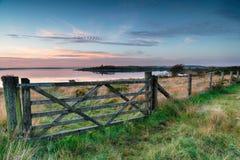 Colliford Lake Gate 019p.jpg Royalty Free Stock Photos