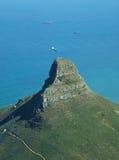 Collina Città del Capo Afirca del sud del leone Immagini Stock Libere da Diritti