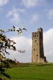 Collina del castello Immagine Stock Libera da Diritti