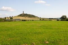 Collina del castello Fotografia Stock Libera da Diritti
