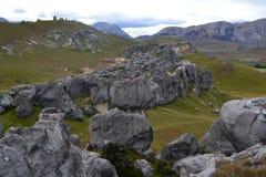 Collina del castello Immagini Stock