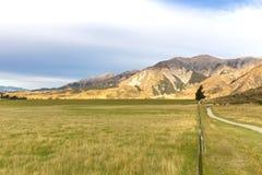 Collina del castello, Nuova Zelanda Immagine Stock