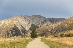 Collina del castello, Nuova Zelanda Fotografie Stock Libere da Diritti