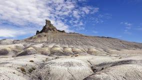 Collina del deserto Fotografia Stock
